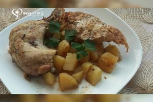Fırın Poşetinde Tavuk-Patates