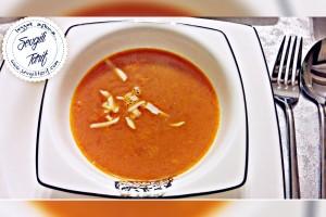 Terbiyeli Domates Çorbası