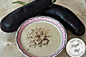 Köz Patlıcanlı Çorba Tarifi